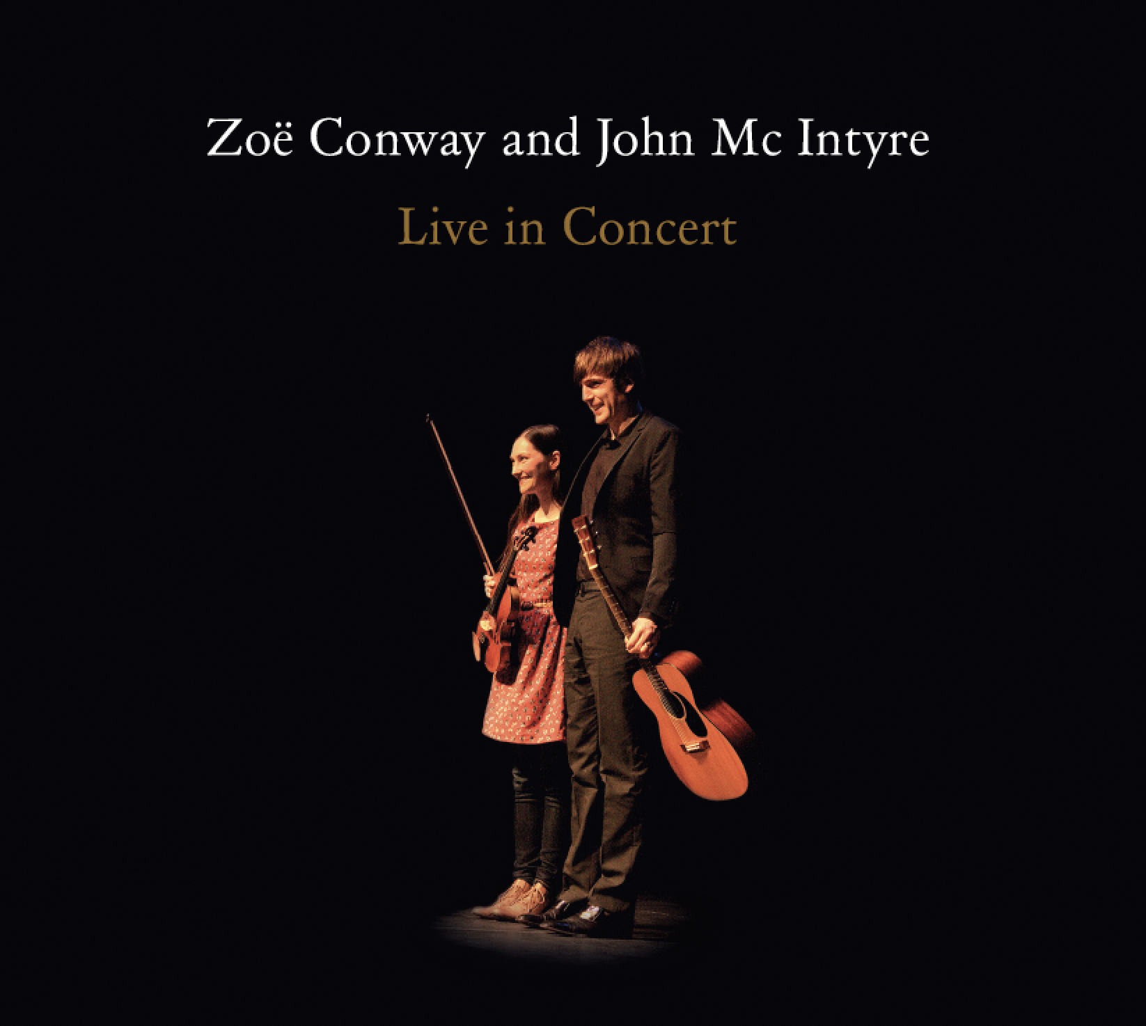 Zoe and John live cd cover
